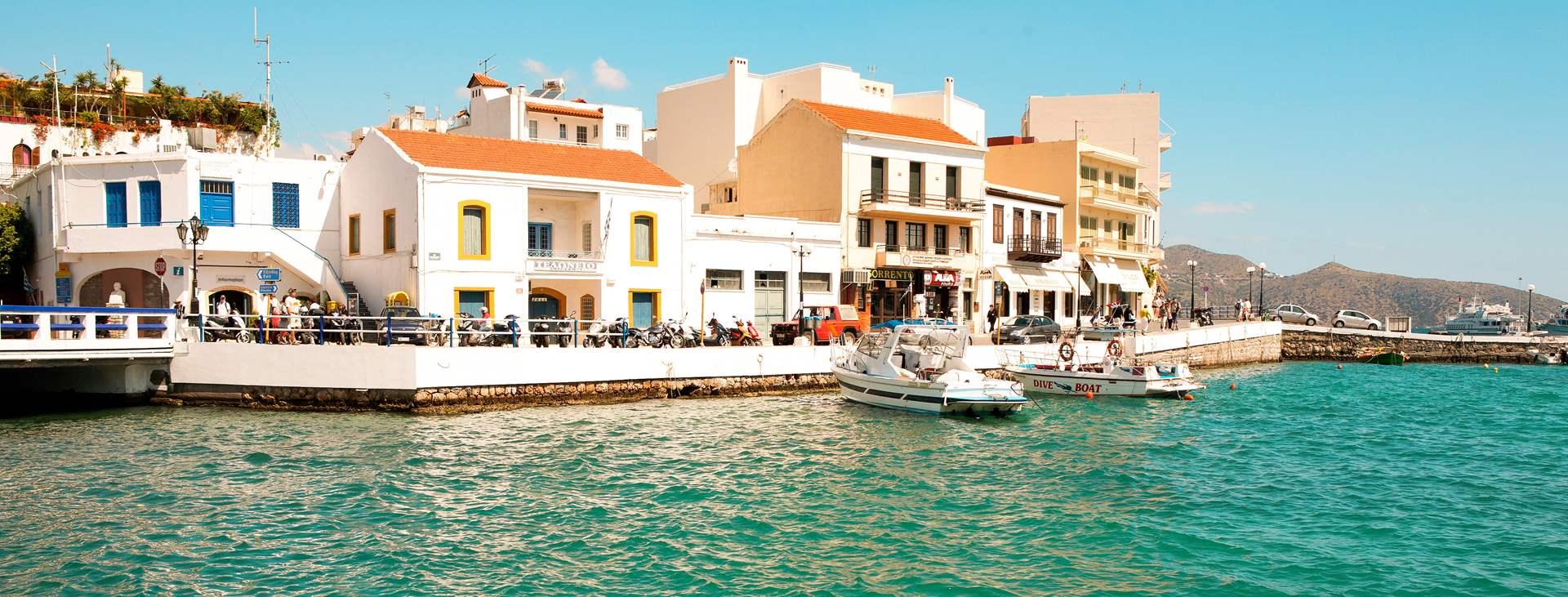 Matkat Agios Nikolaokseen Kreetalle