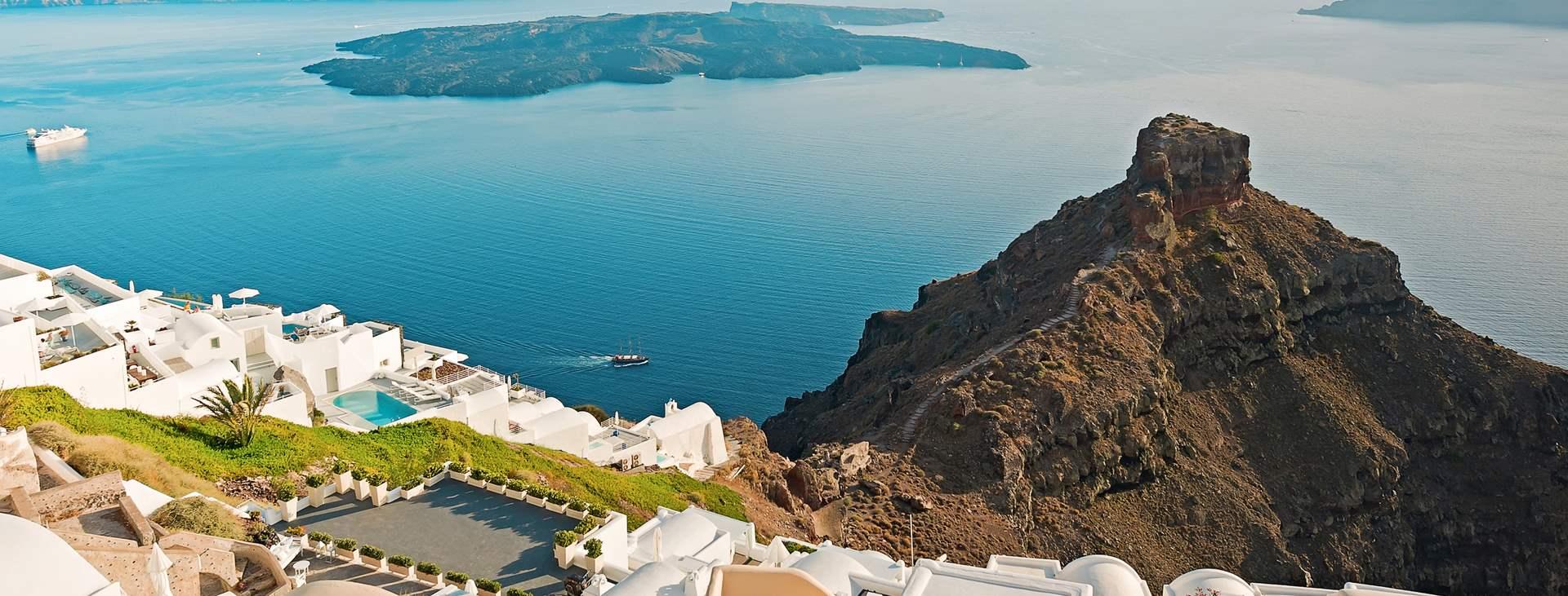 Matkoja myös Imerovigliiin, Santorinille, Kreikkaan