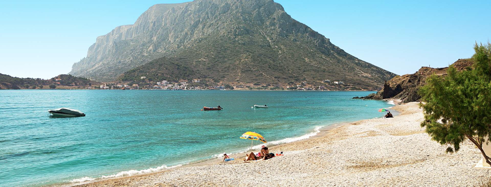 Varaa rentouttava loma Mirties & Massourissa, Kalymnoksella, Kreikassa