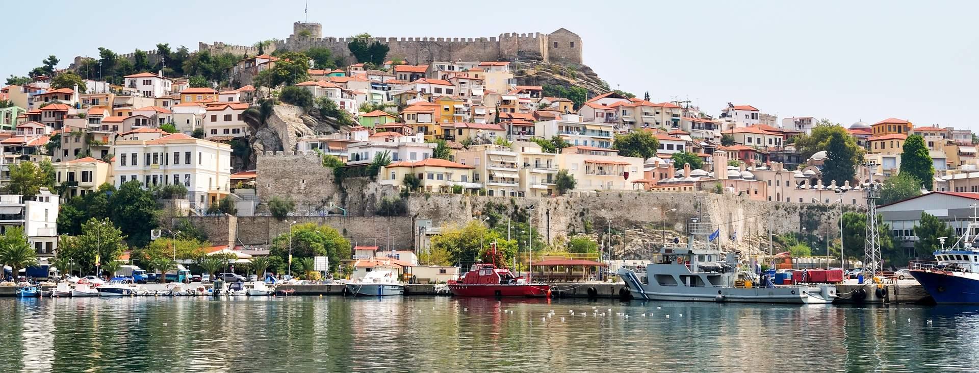 Lähde Tjäreborgin kautta lomalle Kavalan kaupunkiin, Kreikan mantereelle, Thassoksen saaren naapuriin
