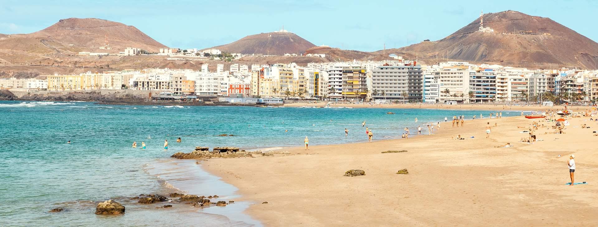 Las Palmas Gran Canarialla - varaa Tjäreborgilta ranta- ja kaupunkiloma samassa paketissa