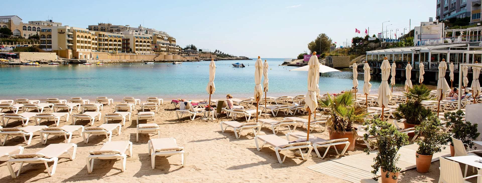 Lähde Tjäreborgin matkalle St Julian´s/Sliemaan, Maltalle