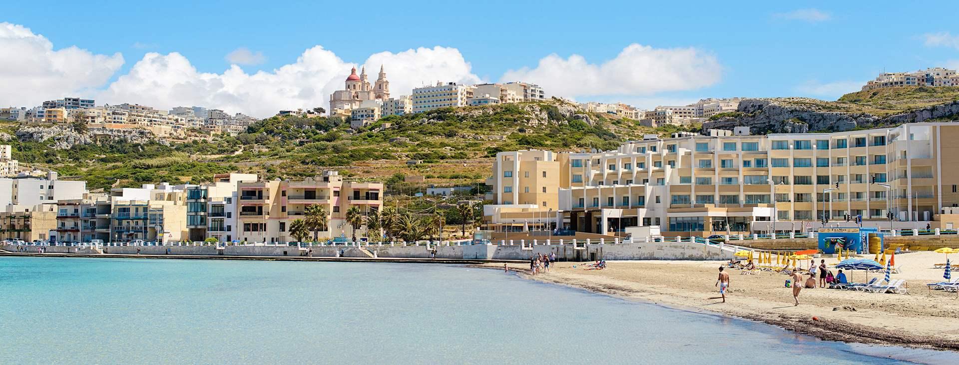 Tjäreborgin kautta matkoja myös Melliehaan, Maltalle