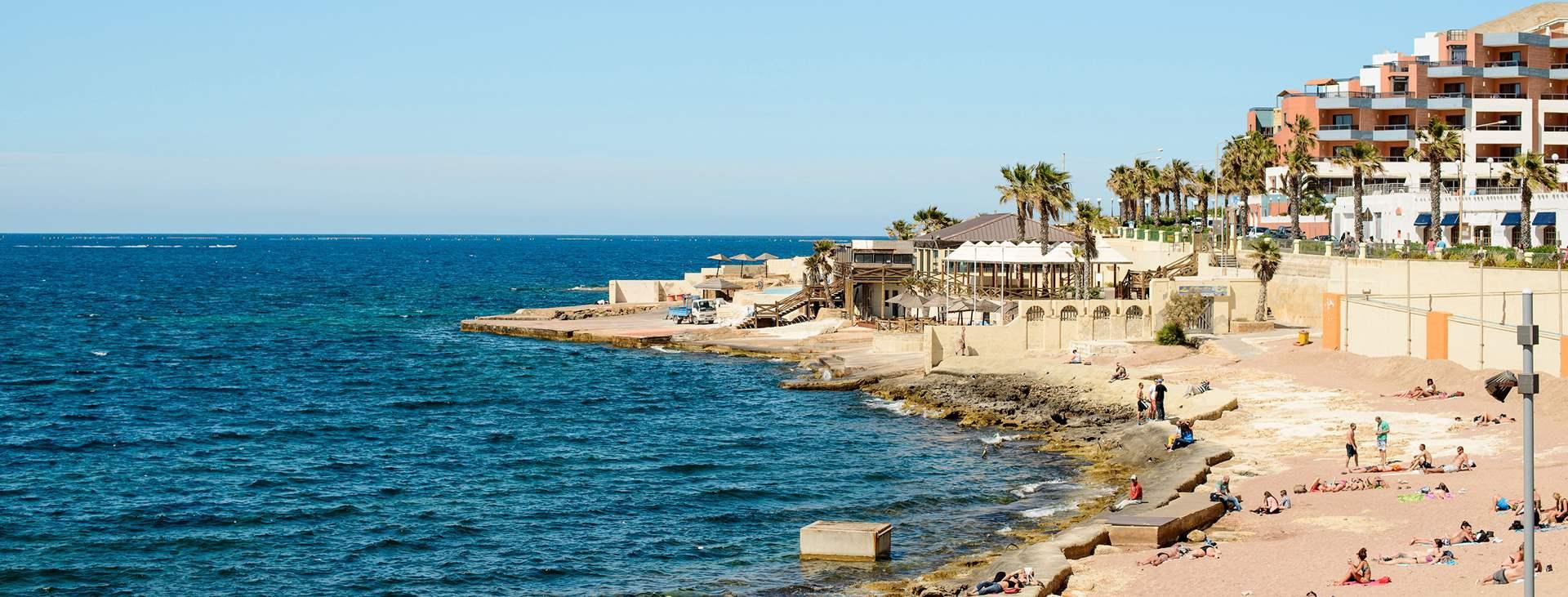 St Pauls Bay on yksi Tjäreborgin lomakohteista Maltalla