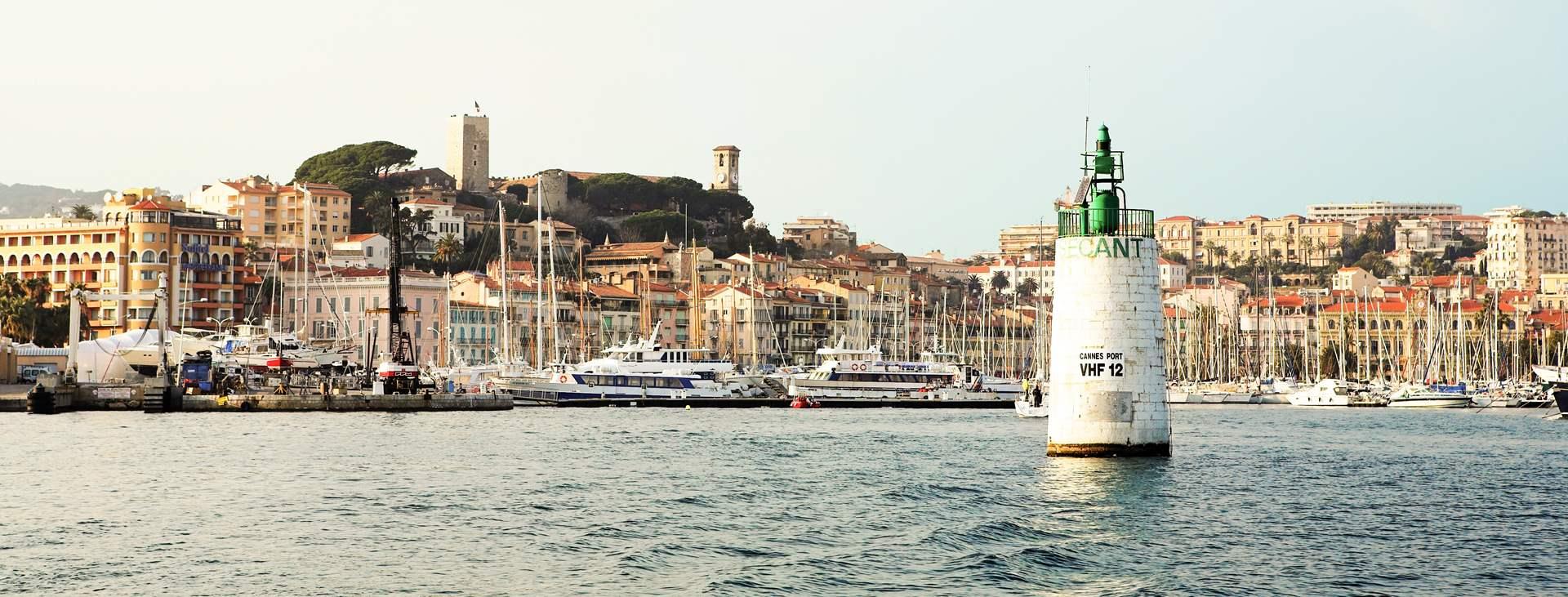 Cannesin pikkukaupungissa on luksusta ja glamouria