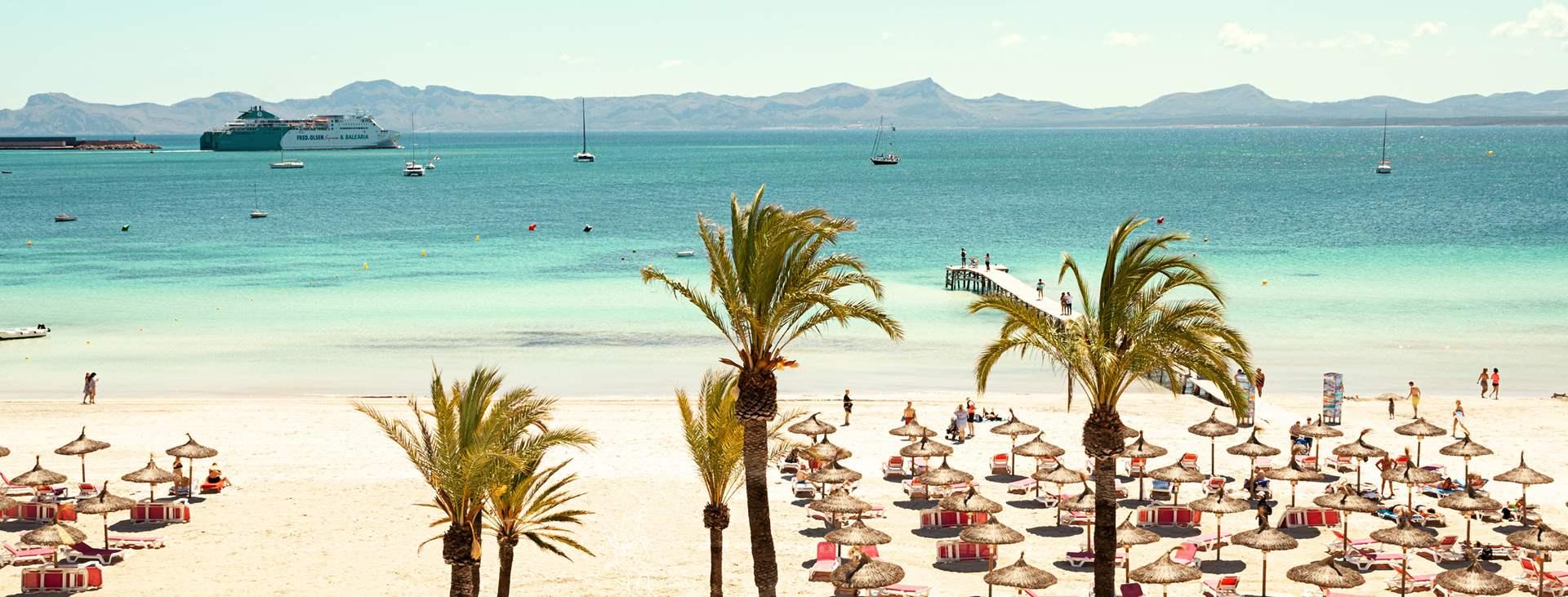 Mallorcan Alcudia on lapsiystävällinen lomakohde