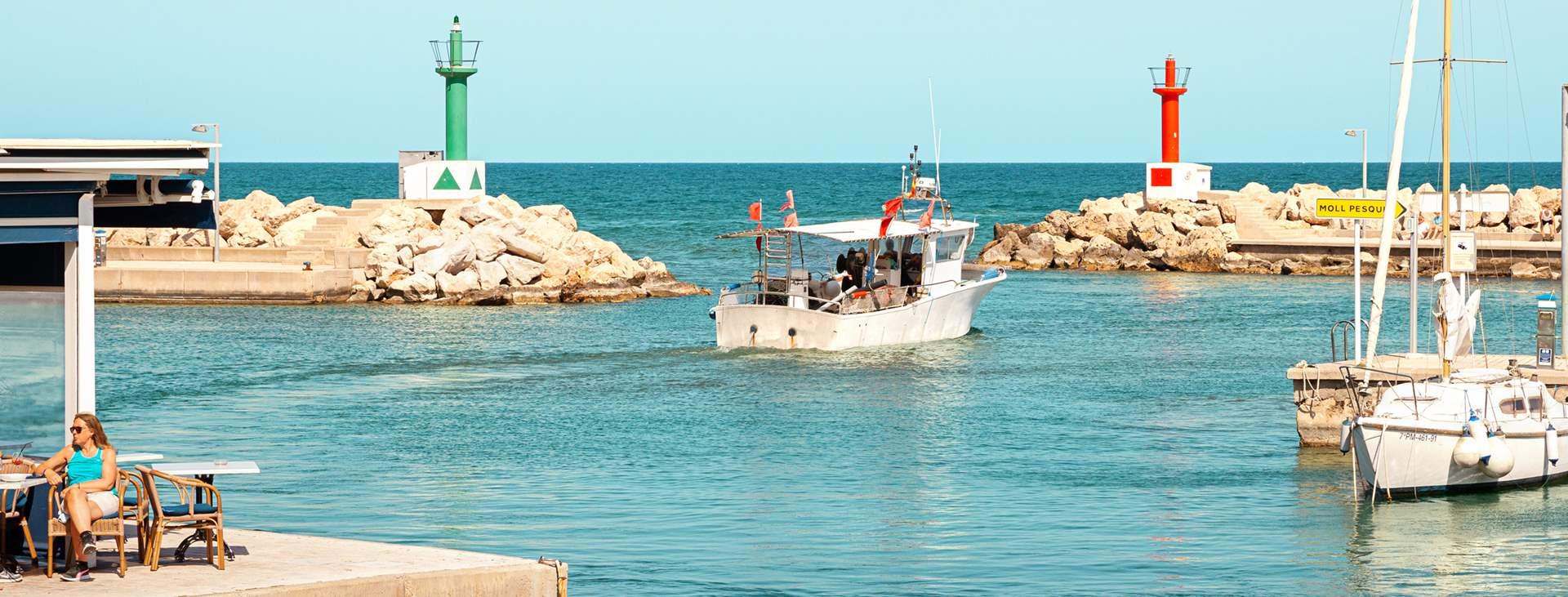 All Inclusive -loma Cala Bonassa, Mallorcalla
