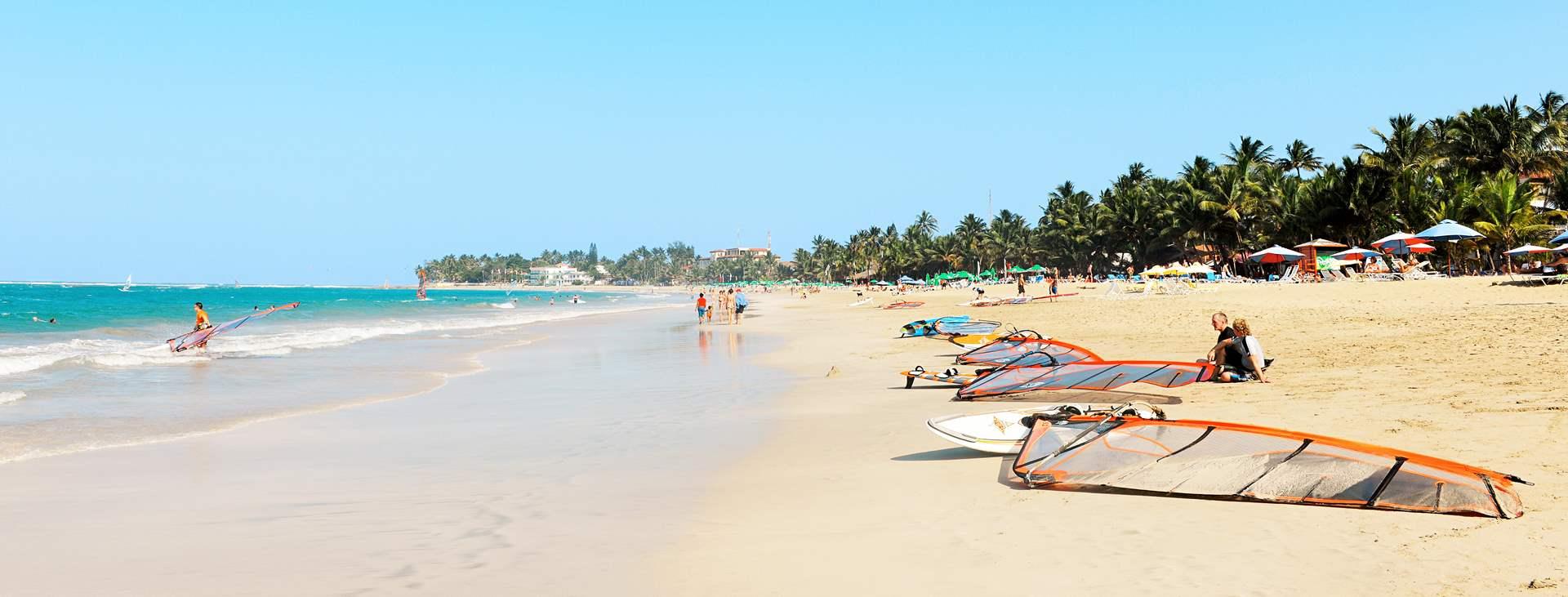 Cabarete on viihtyisä rantalomakohde Dominikaanisen tasavallan pohjoisrannikolla