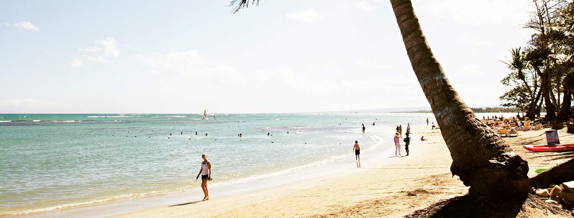 Lähde Playa Doradaan, Karibialle