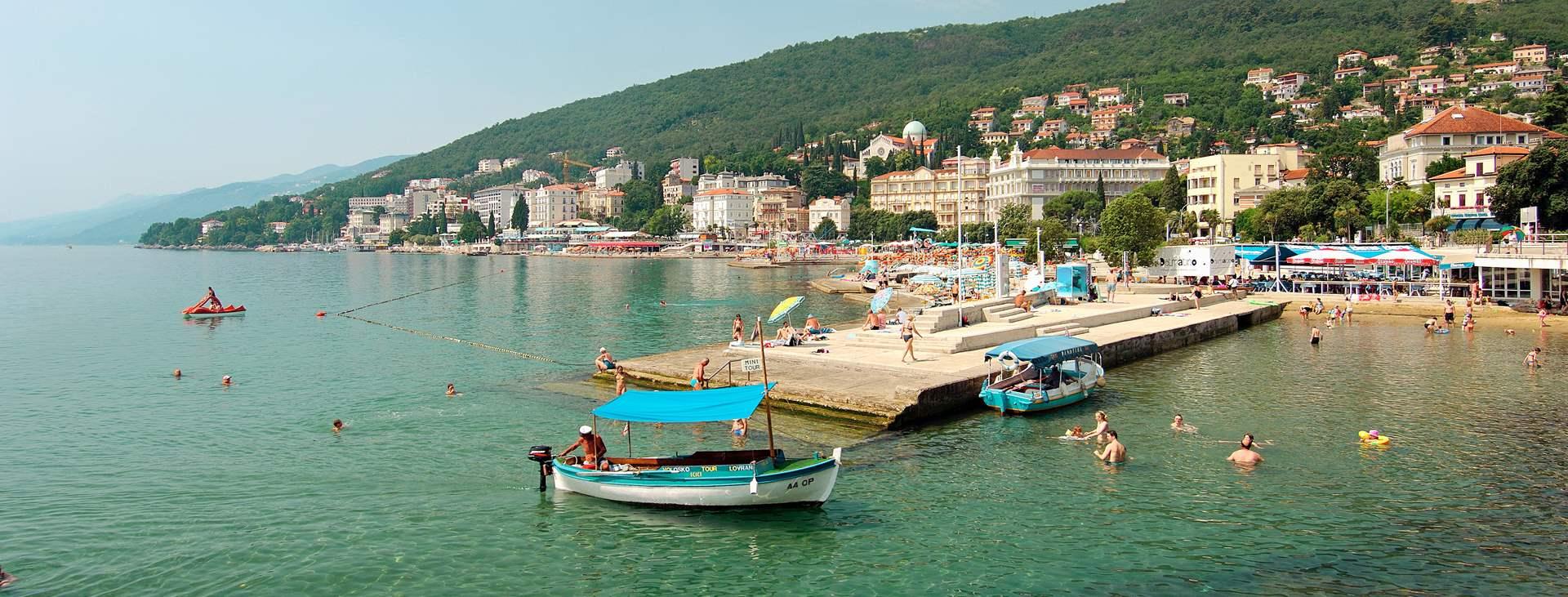 Matkoja myös Opatijaan, Istrian alueelle, Kroatiaan