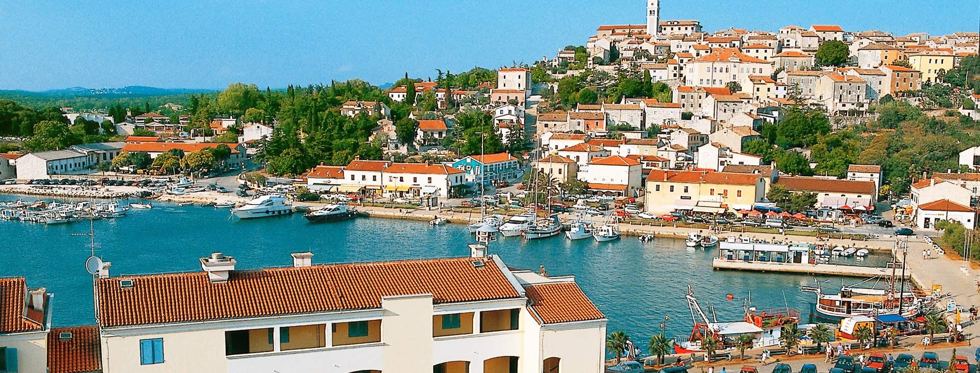 Tjäreborgilta matkat Kroatiaan, Istrian niemimaalle ja kohteena Vrsar