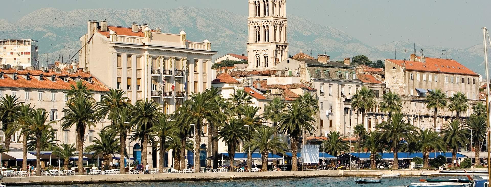 Varaa matkasi Tjäreborgilta Splitiin, Kroatiaan