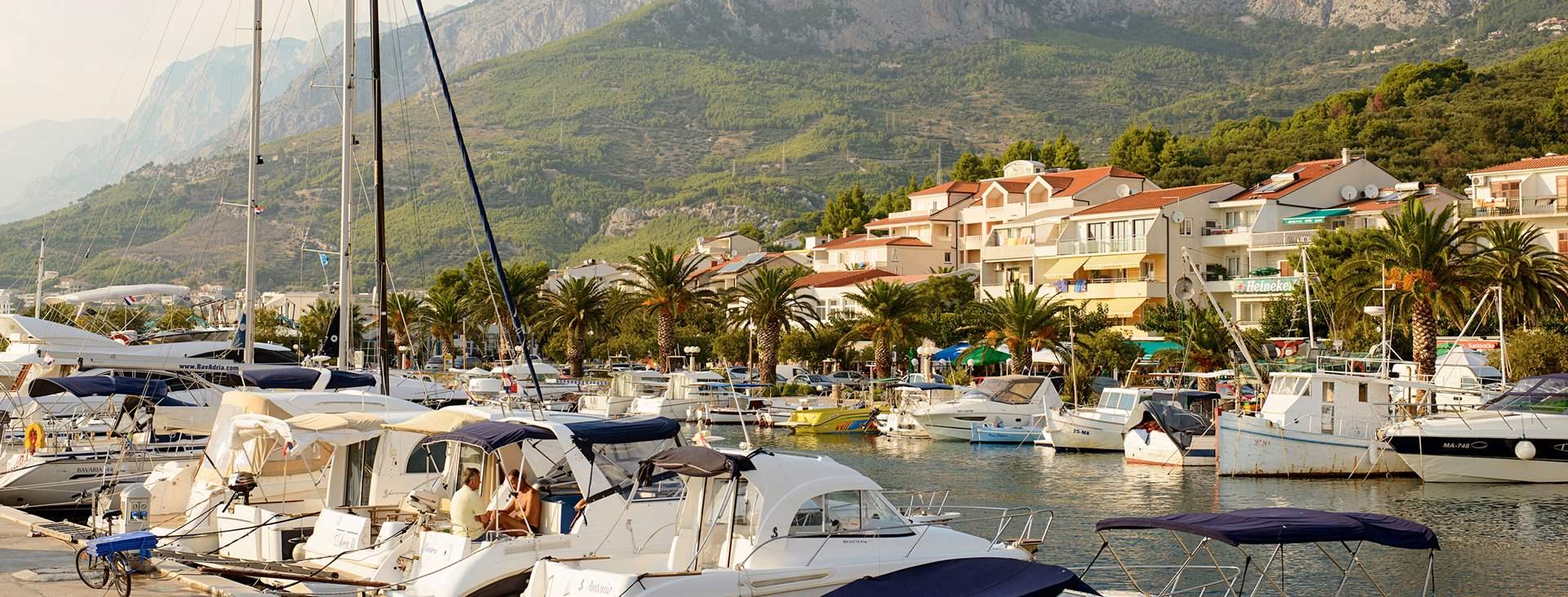 Tjäreborgilta matkoja Tucepiin, Makarskan Rivieralle, Kroatiaan