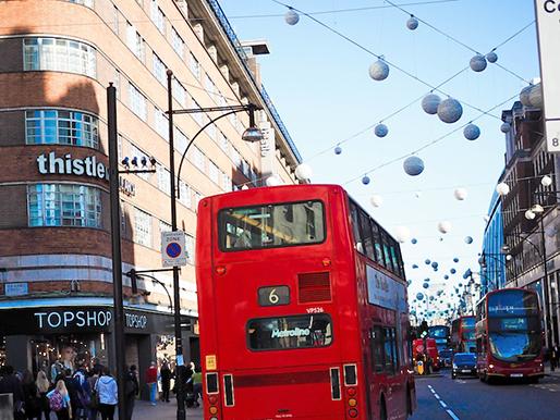 Lontoo, Oxford Street